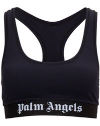 Palm Angels - Sports Top With Logo - Lyst