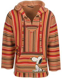Alanui The Peanuts Patched Gauchos Hoodie - Multicolour