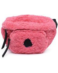 Moncler Zip-up Belt Bag - Pink