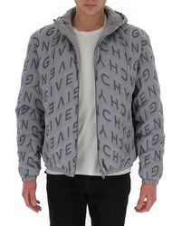 Givenchy Refracted Thermo-quilted Windbreaker - Grey