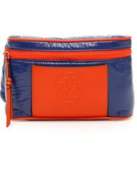 Tory Burch Perry Bombe Logo Belt Bag - Blue