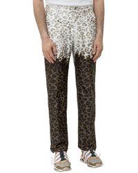 MSGM Leopard Print Trousers - Multicolour