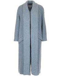 Étoile Isabel Marant - Textured Shawl Coat - Lyst