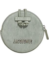 Jacquemus Le Pitchou Mini Strapped Coin Purse - Green