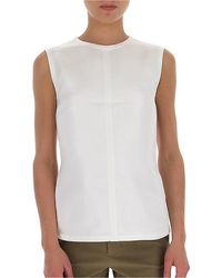 Helmut Lang Backless Top - White