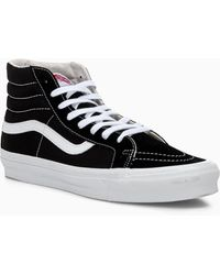 Vans Sk8 Hi Sneakers for Men - Up to 60% off at Lyst.com