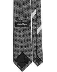 Ferragamo Printed Tie - Black