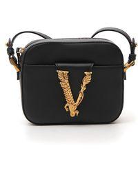 Versace Virtus Camera Bag - Black
