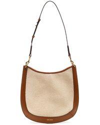 Isabel Marant Moskan Hobo Shoulder Bag - Natural