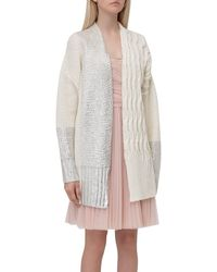 Pinko Foil Print Knitted Cardigan - Multicolour