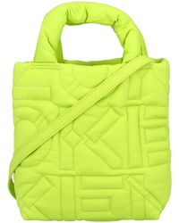 KENZO Kezno Arctik Quilted Small Tote Bag - Green