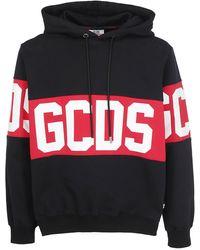 Gcds Band Logo Hoodie - Black