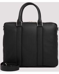 Bottega Veneta Top Handle Briefcase - Black