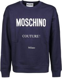 Moschino Couture Sweatshirt - Blue