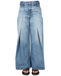 MM6 by Maison Martin Margiela Flared Jeans - Blue