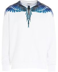 Marcelo Burlon Wings Sweatshirt - White