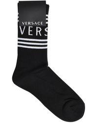 Versace Black Socks