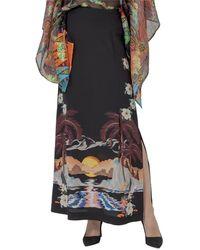Etro Printed Side-slit Skirt - Multicolour