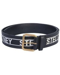 Stella McCartney Logo Belt - Black