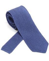 Ermenegildo Zegna Silk Tie - Blue