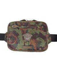 Versace The Medusa Belt Bag - White