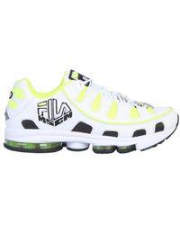 MSGM Silva X Fila Sneaker - Yellow
