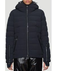 3 MONCLER GRENOBLE Hooded Puffer Jacket - Black