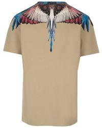 Marcelo Burlon Wings T-shirt - Natural