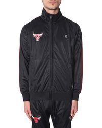 Marcelo Burlon Chicago Bulls Sports Jacket - Black