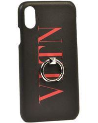Valentino Vltn Iphone X/xs Case - Black
