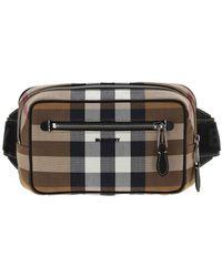 Burberry Logo Check Bum Bag - Multicolor