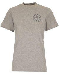 Sporty & Rich Basic T-shirt - Grey