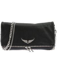 Zadig & Voltaire Rock Studs Clutch Bag - Black