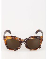Kuboraum B2 Sunglasses - Brown