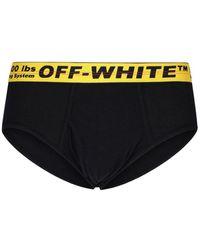 Off-White c/o Virgil Abloh Logo Briefs - Black