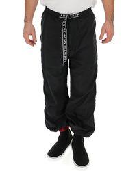 Givenchy Logo Belt Trackpants - Black
