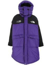 MM6 by Maison Martin Margiela X The North Face Himalayan Down Jacket - Purple