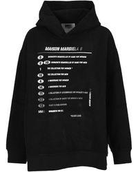 MM6 by Maison Martin Margiela - Motocross Hoodie - Lyst