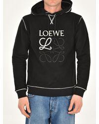 Loewe Black Anagram Hoodie