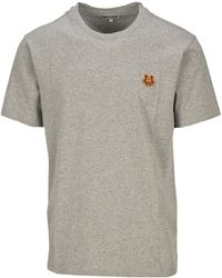 KENZO Tiger Crest T-shirt - Gray