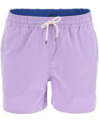 Polo Ralph Lauren Traveller Stretch Swim Trunks - Purple