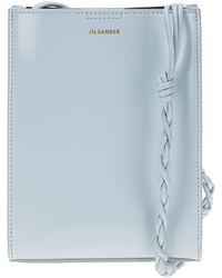 Jil Sander Tangle Small Shoulder Bag - Blue