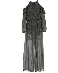 MICHAEL Michael Kors - Floral Print Jumpsuits - Lyst