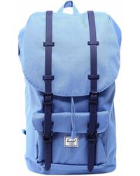 Herschel Supply Co. Little America Foldover Backpack - Blue