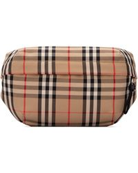 Burberry Vintage Check Medium Bum Bag - Brown