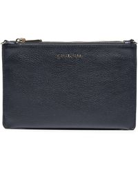 MICHAEL Michael Kors Pebbled Crossbody Bag - Black