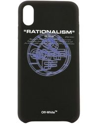 Off-White c/o Virgil Abloh Rationalism Logo Iphone Xs Max Cover - Black