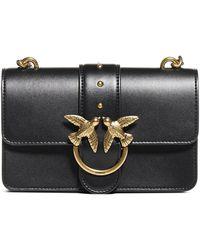 Pinko Love Simply Mini Crossbody Bag - Black