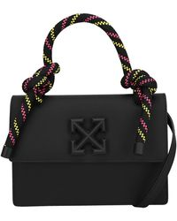 Off-White c/o Virgil Abloh 1.4 Gummy Jitney Tote Bag - Black
