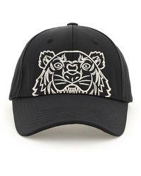 KENZO Kampus Tiger Embroidered Cap - Black